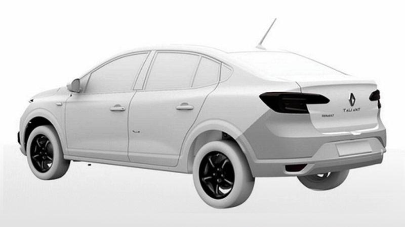 Перспективний седан Renault Taliant