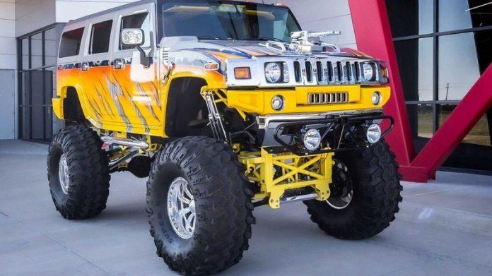 На продаж виставили самий дикий Hummer H2
