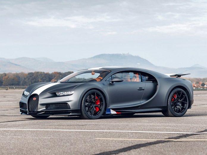 Bugatti представила спеціальну версію гіперкара Chiron під назвою Les Legendes du Ciel
