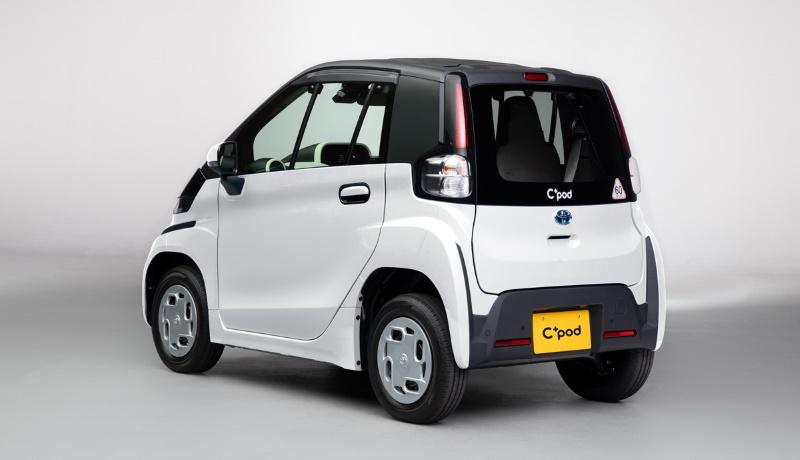 Toyota C+pod вигляд