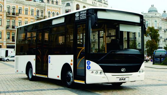 Модель автобуса ZAZ А10 буде поставлятися на експорт