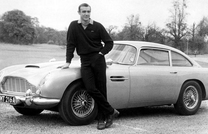 Шон Коннері - Aston Martin DB5 із фільму про Джеймса Бонда Goldfinger 1964