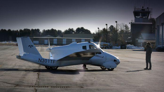 літак-автомобіль Terrafugia Transition