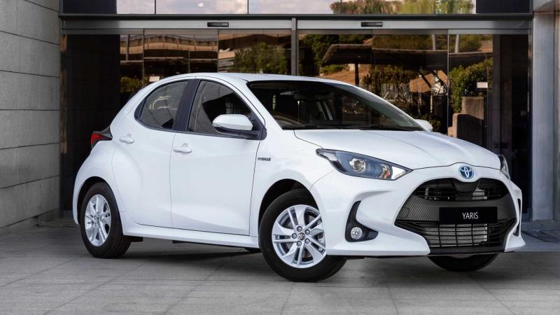 Представлено нову версію Toyota Yaris для вантажоперевезень. Фото